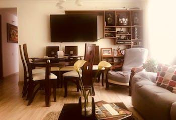 Apartamento en Villa Elisa, Suba - 74mt, tres alcobas