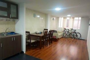 Apartamento en Galerías, Teusquillo - 57mt, dos alcobas