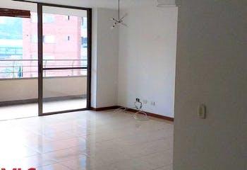 Apartamento en El tesoro, El Poblado - 120mt, tres alcobas, balcon