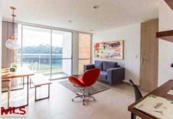 Apartamento en Santa Ana, Rionegro - 64mt, tres alcobas, balcon
