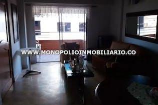 Apartamento en Alcala, Envigado - 108mt, cuatro alcobas, balcon