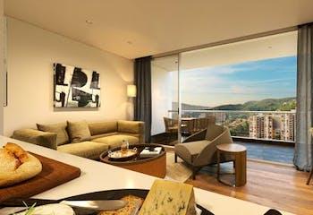 Apartamento en el Tesoro, Poblado, 2 Habitaciones- 81m2.