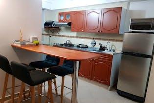 Apartamento en Loma del Indio, El Poblado, 3 Habitaciones- 58m2.