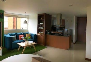 Apartamento en Loma de Cumbres, Envigado - 74mt, dos alcobas, balcon