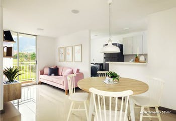 Proyecto de vivienda, Ciudadela Villa del Bosque, Apartamentos en venta en Cabecera San Antonio De Prado 52m²