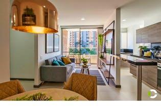 Apartamento en venta en Sabaneta de 59m² con Zonas húmedas...