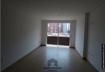Apartamento en Calle Larga, Sabaneta. Con 3 habitaciones-81mt2