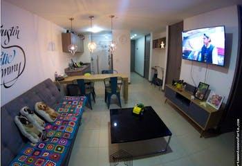 Apartamento en venta en Maria Auxiliadora, sabaneta. Con 3 habitaciones-59mt2