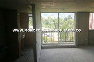 Apartamento en venta en San Antonio de Prado, 56mt con balcon.