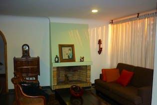 Apartamento en venta en Santa Barbara Central, 116mt con chimenea