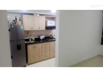 Apartamento en venta en San Antonio de Prado, 41mt con balcon.