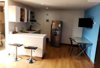 Apartamento en venta en El Campestre de 1 habitacion