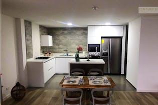 Apartamento en venta en Loma de las Brujas, 124mt con balcon.