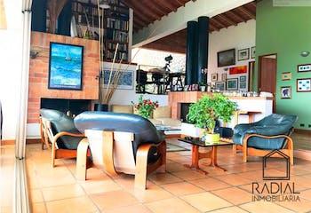Casa campestre en venta en Alto de las Palmas, 595mt con jacuzzi