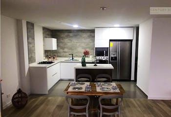 Apartamento en venta en Loma de las Brujas, 134mt con balcon.