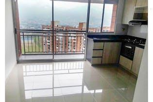 Apartamento en venta en Itagüí, Santa María. Con 3 Habitaciones-57mt2