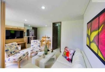 Apartamento en venta en La Estrella, 52m² con Jardín...