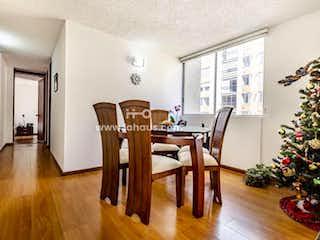 Una sala de estar llena de muebles y un árbol de navidad en Apartamento En Venta En Bogota Villa Alsacia, Favidi, Con  3 Habitaciones-68mt2