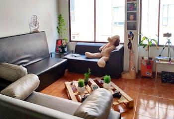 Apartamento en venta en Santa Paula de 1 alcoba