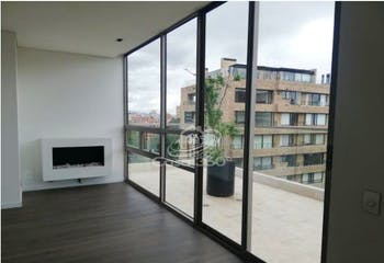 Apartamento en venta en La Cabrera de 135 mt2. con chimenea