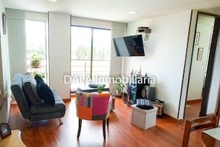 Apartamento en venta en Casco Urbano Cajicá de 50 mt2. con balcón