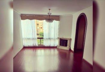 Apartamento En Venta En Prado Pinzón de 94 mt2. con chimenea