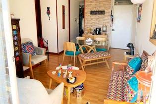 Apartamento en venta en Suba Lombardía de 68 mt2. con balcón
