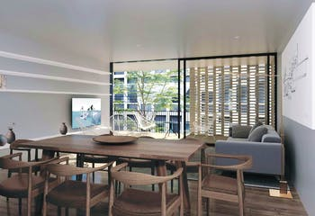 Departamento en venta en Condesa de 255 mt2 Penthouse