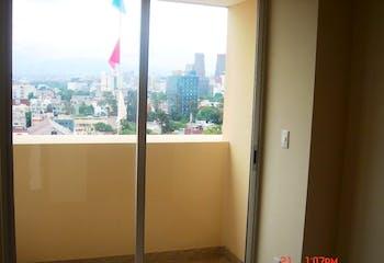 Departamento en venta en Anzures de 73 mt2. con balcón