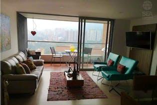 Apartamento en venta en Loma de Las Brujas, Envigado de 117mtrs2