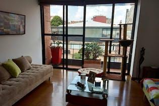 Apartamento en venta en Santa Bárbara Occidental de 139mtrs2 con chimenea