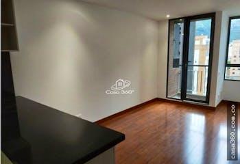 Apartamento en venta en Cedritos, Caobos Salazar, Con 2 habitaciones-70mt2