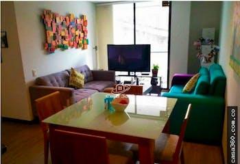 Apartamento en venta en Barrio Cedritos de 65 mt2. con balcón.