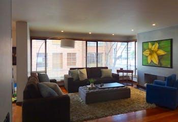 Apartamento en venta en Chicó Navarra de 180m² con Solarium...