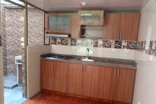 Casa En Venta En Bogota Suba Turinjia, Con 3 habitaciones-54mt2