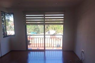 Departamento en venta en Tizapan con 2 balcones.