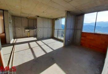 Apartamento en venta en Virgen del Carmen, Sabaneta de 58,7 mtrs2