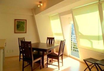 Departamento en venta en Anáhuac, 65mt con balcon.