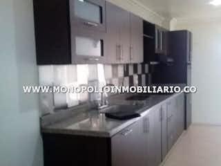Una foto en blanco y negro de una cocina en EL MAYORAL