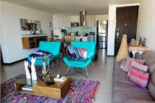 Apartamento en venta en Loma de las Brujas, 117mt con balcon.