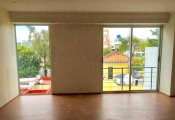 Departamento en venta en Narvarte de 114 mt2. con balcón.