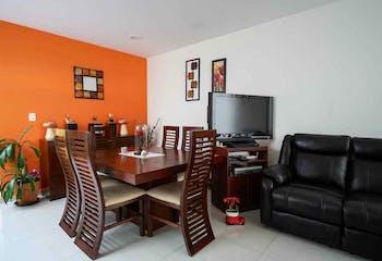 Departamento en venta en Fuentes de Tepepan de tres habitaciones