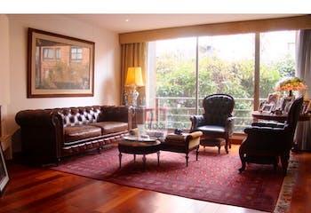 Apartamento en venta en Chicó Navarra de 140 mt2. con terraza