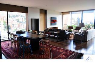 Penthouse en venta en El Nogal, Bogotá de 321mtrs2 con balcón