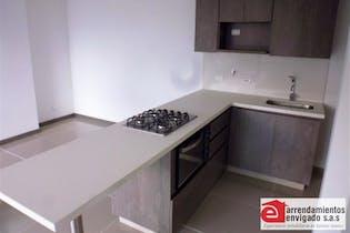 Apartamento Para Venta en Loma del Escobero, Con 3 habitaciones.-81mt2