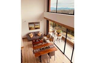 Apartamento en venta en San Antonio de Pereira de 80 mt con balcón