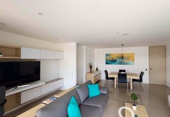 Monte Verde, en en La Dalía de 64-82m², Apartamentos nuevos en venta en Campo Alegre con 2 habitaciones