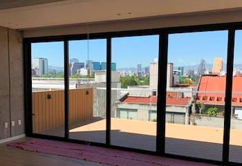 Departamento en venta en Polanco de 173mt2 con terraza