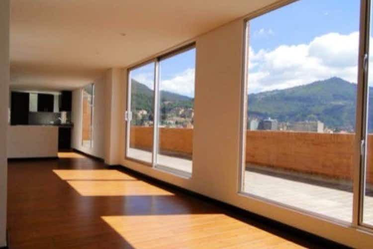 Portada Apartamento en venta en Santa Bárbara Central de 120 mt con chimenea