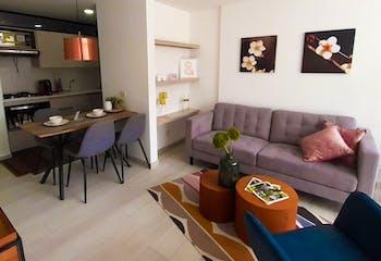 Vivienda nueva, Maderos del Retiro, Apartamentos en venta en Casco Urbano El Retiro con 55m²